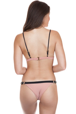 ISSA DE MAR Waimea Bottom in Honey Black Rib