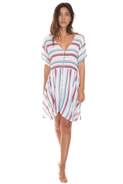 ROVE Laney Dress in Ambrosia Stripe