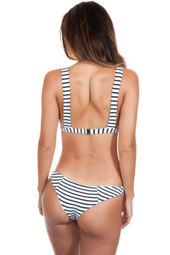 BLUE LIFE Jet Set Skimpy Bottom in Jacquard Stripe