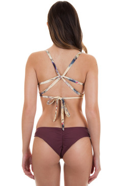 BOYS AND ARROWS Clairee Bottom in Burgundy