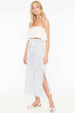 FAITHFULL THE BRAND Sand Island Pants in Lambert Stripe