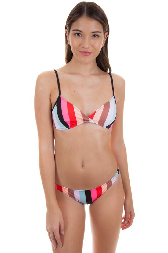 SOLID AND STRIPED Brigitte Top in Malibu Stripe