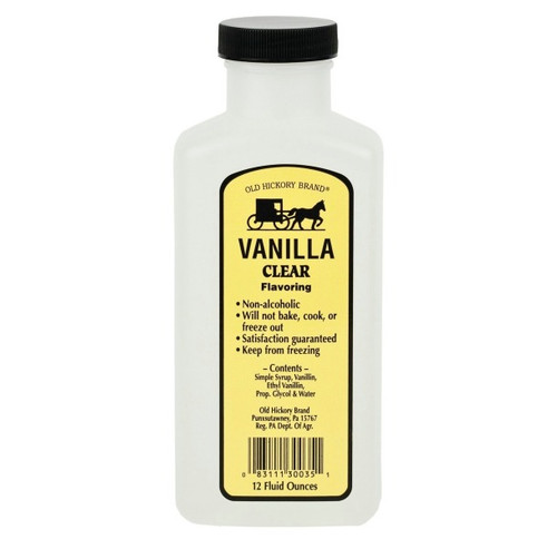Clear Imitation Vanilla - 12 Oz