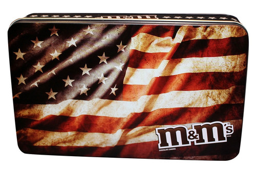 M&M'S® American Flag Tin, 2.75 Oz