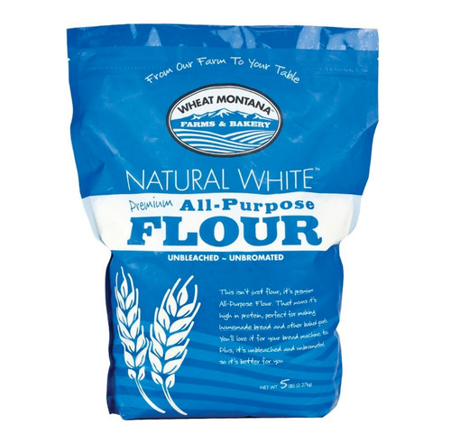 Natural White Premium Flour - 5 Lb