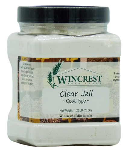 Clear Jel Canning Starch (Cook Type) - 1.25 Lb Tub