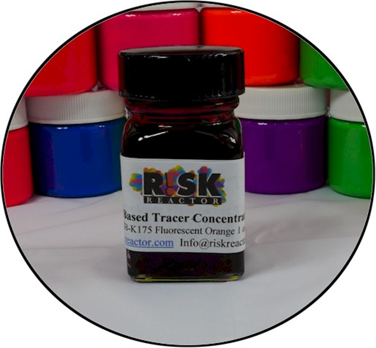 Ounce of DFSB-K175 Oil UV Tracer Dyes.