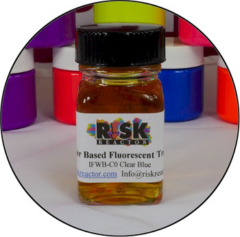 Optical brightener ultra violet dye tracer perfect for inks and non destructive testing.