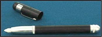 Refill pen with cap off ready for your black light or non UV project.