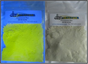 Clear Yellow Fluorescent Dye DFSB-K546 three grams