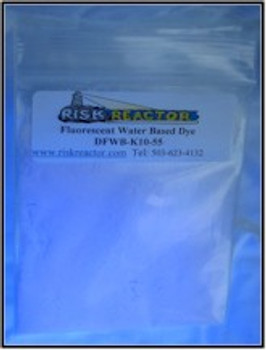 Optical brightner uv clear blue dyes 100 gram bags.
