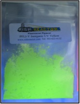 5 g Yellow Longwave Inorganic UV Pigment