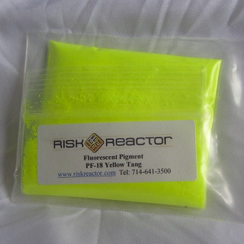 PF-18 Yellow Tang Fluorescent powder.