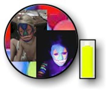 Yello Tang Neon Body UV Paints.