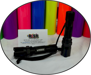 Intense black light flashlight that can fit in your pocket.
