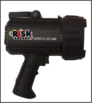 Pistol grip UV black light perfect for inspection emitting UVA 365 nm ultra violet light