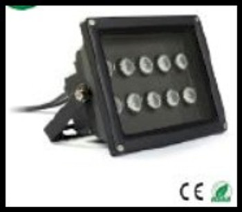 20 watt ultra violet floodlight using 365 NM pure black light energy for curing UV glues and adhesives