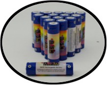 Wholesale 18650 rechargeable black light batteries