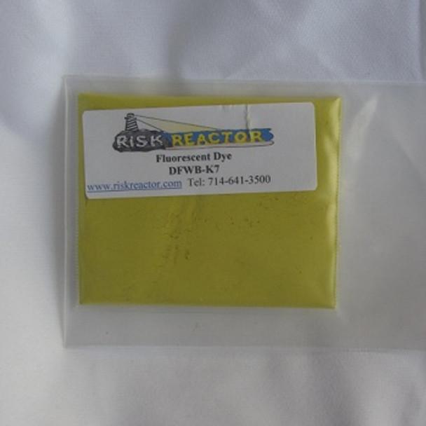 Water UV dye in dry powder form DFWB-K7.