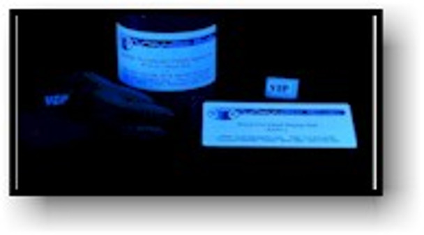 Use the B14LED to see invisible black light ink for hand stamping and security purposes.