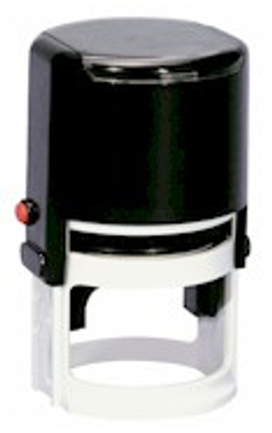 Self inking stamper ready for your event or project.