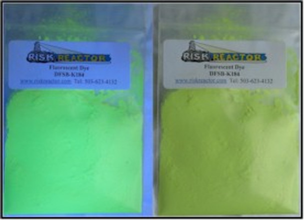 OB clear bright white black light water dyes.