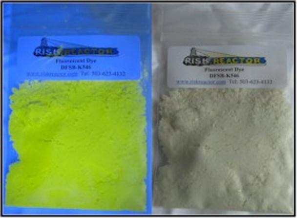Clear Yellow Fluorescent Dye DFSB-K546 three grams