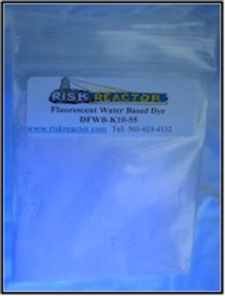 OB clear blue uv fluorescent water dyes.