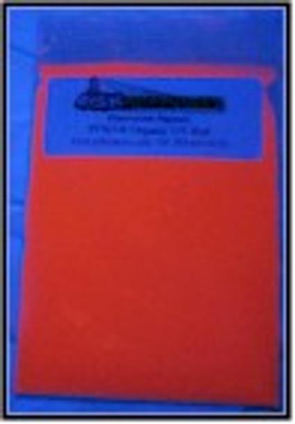 100 g Red Shortwave Organic uv pigments.