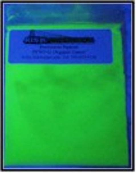 100 g Green Shortwave Organic UV security pigments.