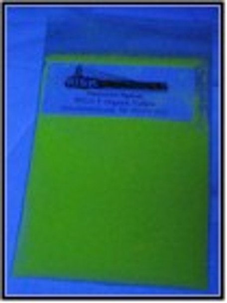 UV Yellow Shortwave Organic Security Pigments