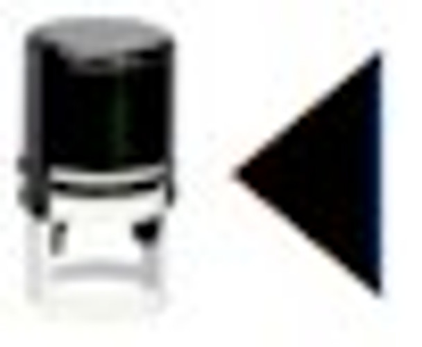 Left arrow stamper for any universal type of ink