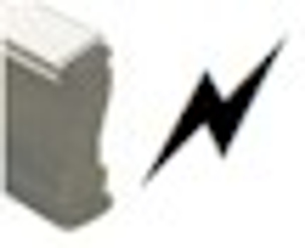 Lightning bold wood hand stamp