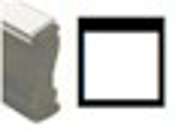 Open square image black light tamps