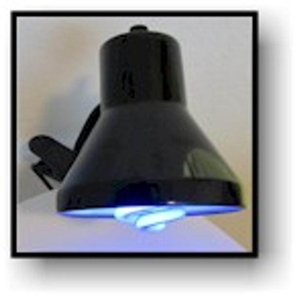 The perfect all purpose clip on UV lamp.