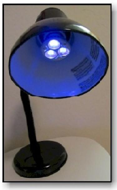 DESK3W-365 true long wave UV desk light.