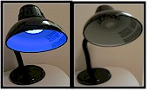 The gooseneck black light is perfect for any application or location.