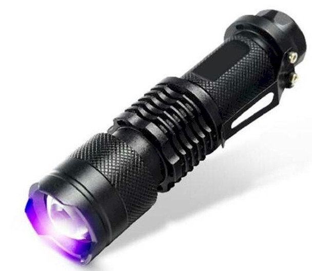 Extremely durable zoomable black light in a flashlight body. Perfect for inspection including car dyes and scorpion hunting.