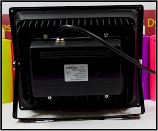 BF70W-395 Seventy watt black light curing and theatrical floodlight
