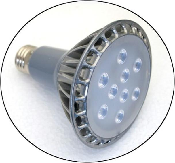 Eleven Watt UV Bulb Black Light Lamp With Spot Lens 30 Degree Beam Angle.