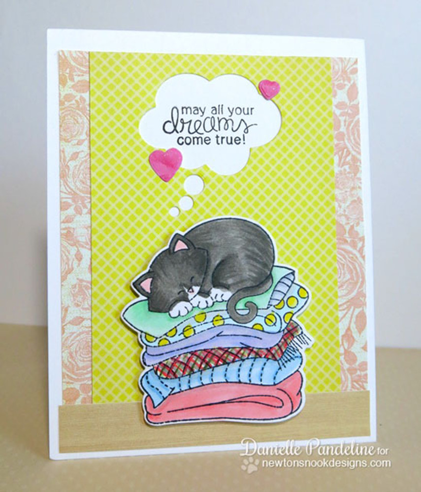 Cat Friendship Card | Newton's Naptime Stamp Set by Newton's Nook Designs