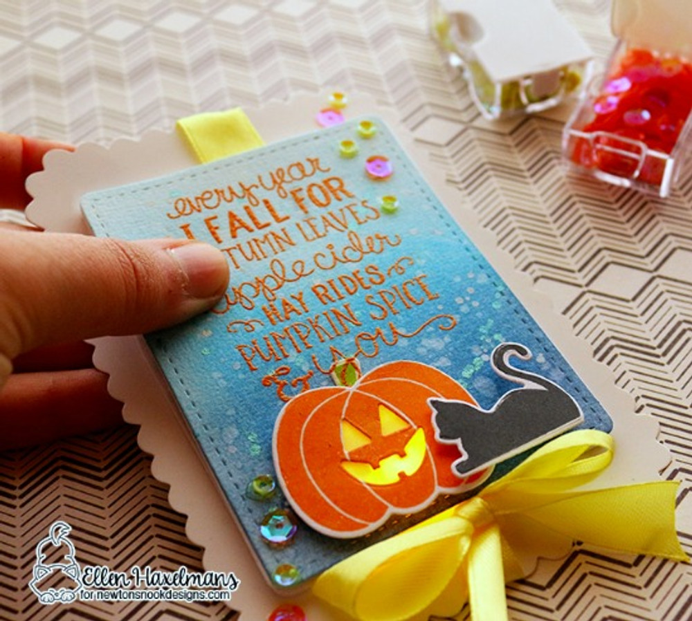 Pick-a-Pumpkin Die Set ©2015 Newton's Nook Designs
