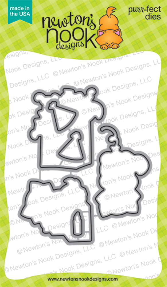 Newton's Birthday Bash | Die Set | Newton's Nook Designs