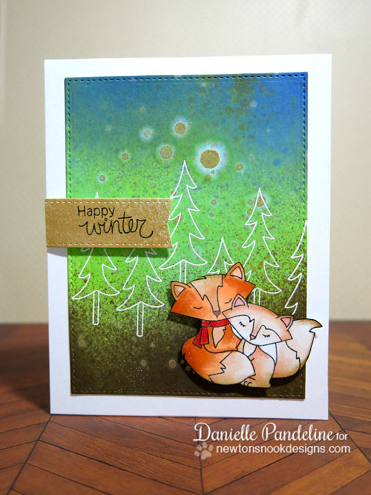 Fox Hollow | 4x6 Photopolymer Stamp Set | Newton's Nook Designs