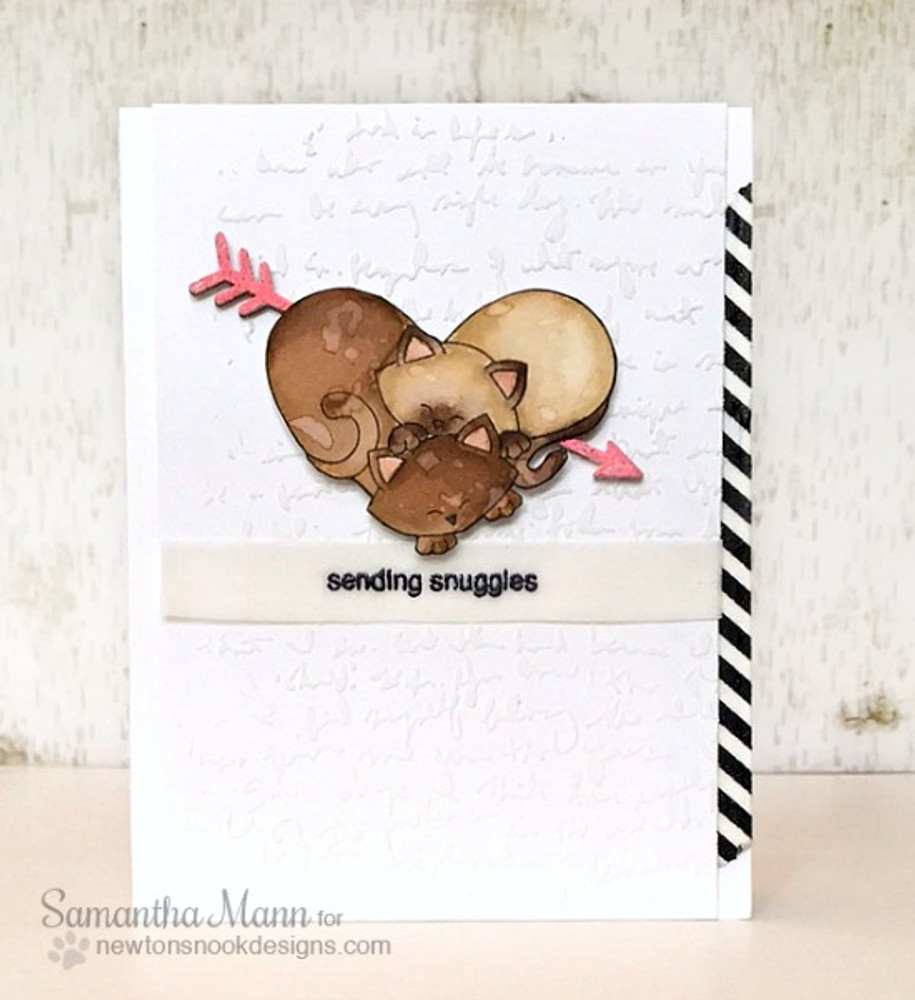Darling Duos | 4x6 Photopolymer Stamp Set | Newton's Nook Designs