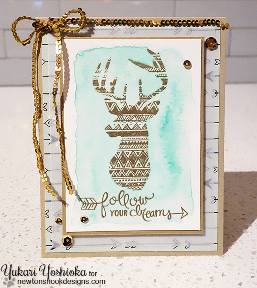 Adventure Awaits Stamp Set by Newton's Nook Designs