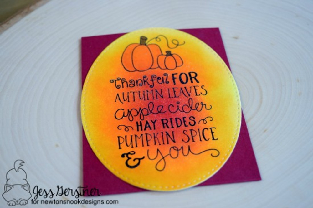 Fall-ing for You Stamp Set by Newton's Nook Designs