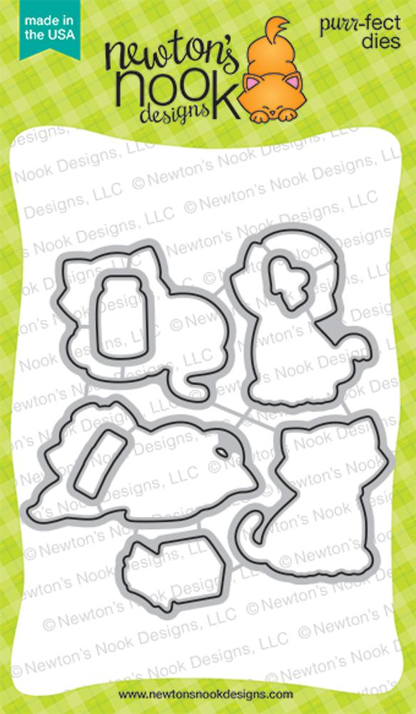Newton's Sick Day Die Set by Newton's Nook Designs
