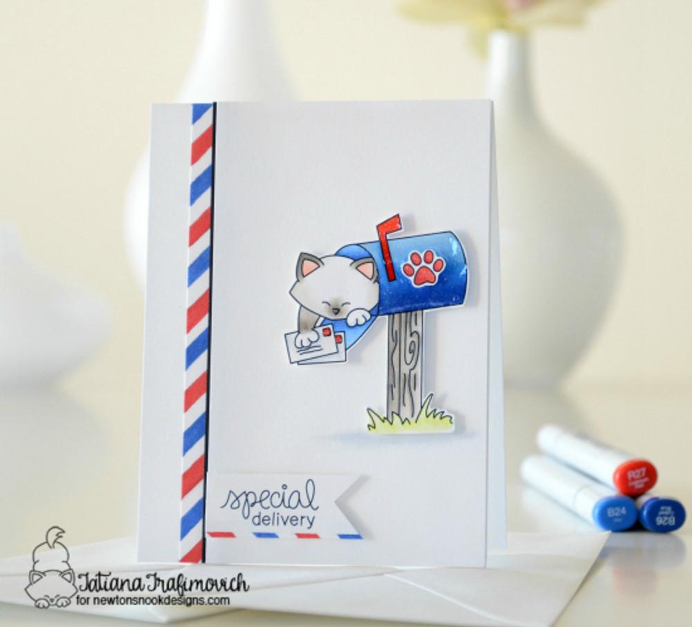 Newton's Happy Mail Stamp Set by Newton's Nook Designs