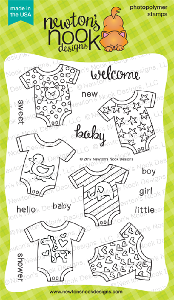 Loveable Laundry Stamp Set by Newton's Nook Designs